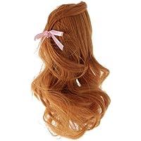 Dovewill 人形用 かわいい 素敵  ウィッグ  巻き髪  ドール修理用  装飾  #1