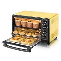 Peacefre 精密温度制御のミニ32L電気オーブン0-230℃と0-60分タイミング1600W照明オーブン付き3層多機能熱風