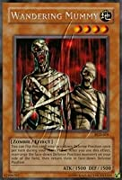 2003 Pharaonic Guardian Unlimited PGD-19 Wandering Mummy (R) Rare / Single YuGiOh! Card in a Protective Deck Sleeve