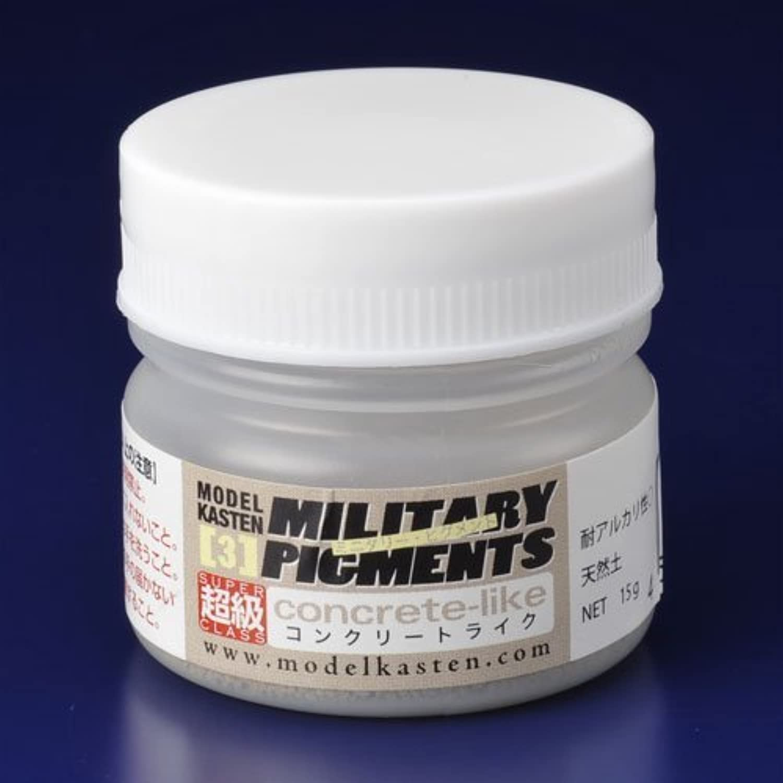 SP03ミリタリーピグメント超級コンクリートライク