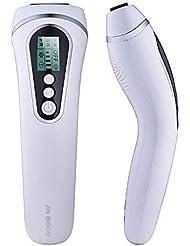 レーザー脱毛器 家庭用脱毛器 光エステ 永久脱毛 サロン品質 美肌機能搭載 男女全身兼用 35万発照射 5段階 IPL脱毛装置(HR(脱毛)+SR(美容)+AC(ニキビケア) (ホワイト)