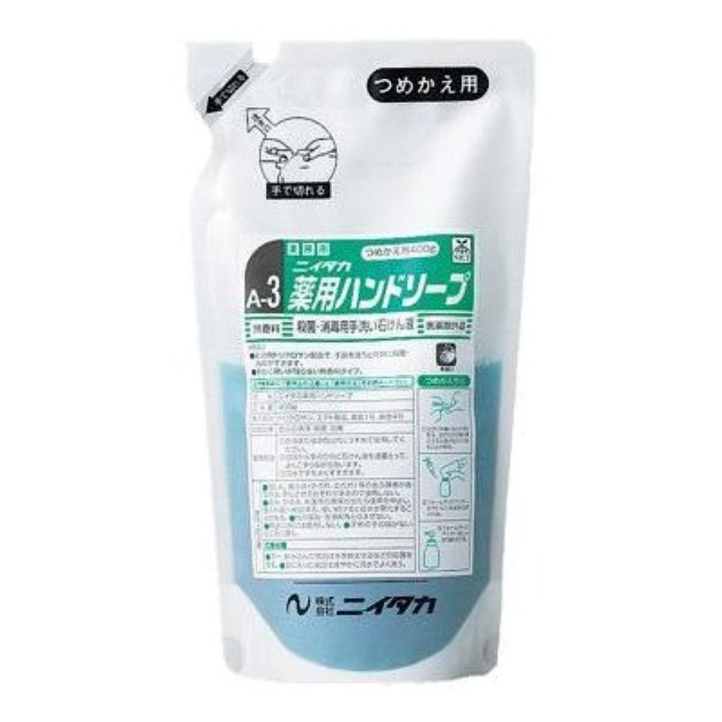 ニイタカ 業務用手洗い石けん液 薬用ハンドソープ(A-3) 400g×6本