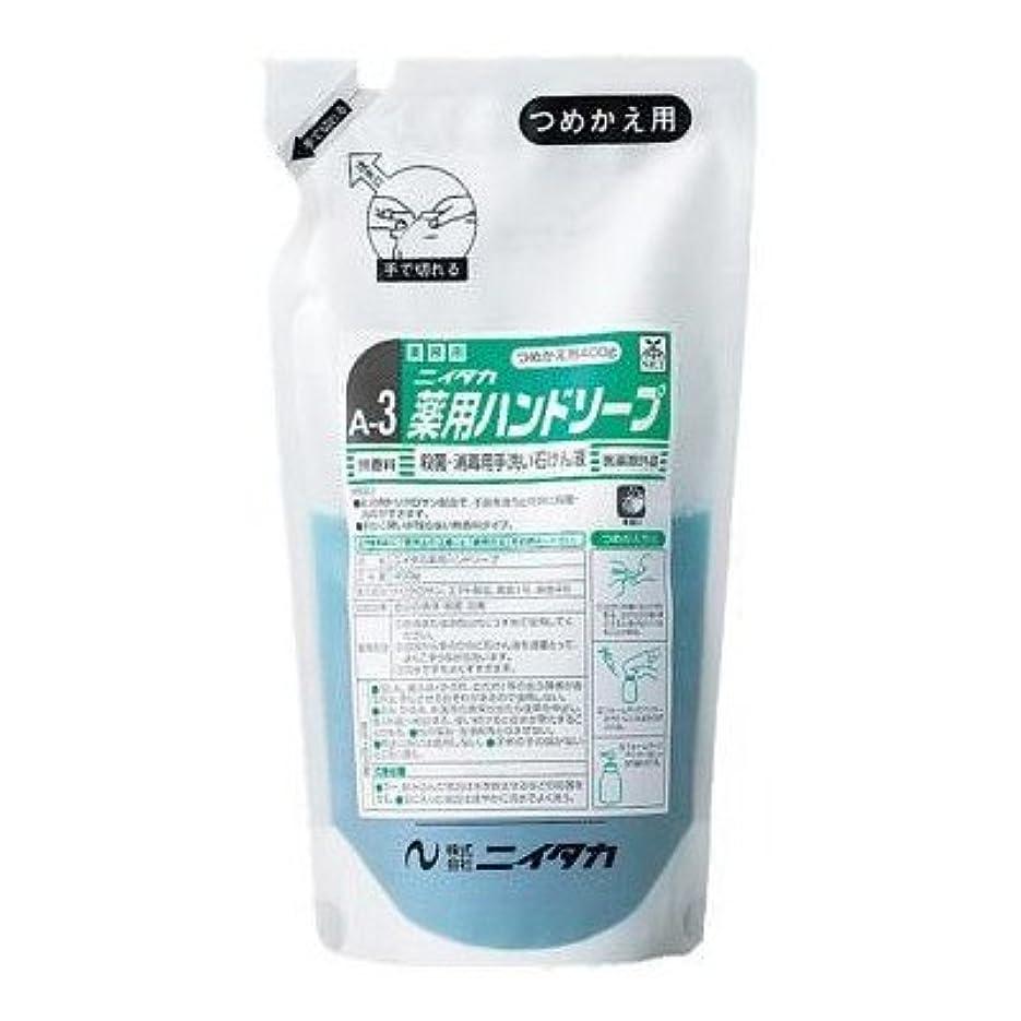 路地兄虐待ニイタカ 業務用手洗い石けん液 薬用ハンドソープ(A-3) 400g×6本