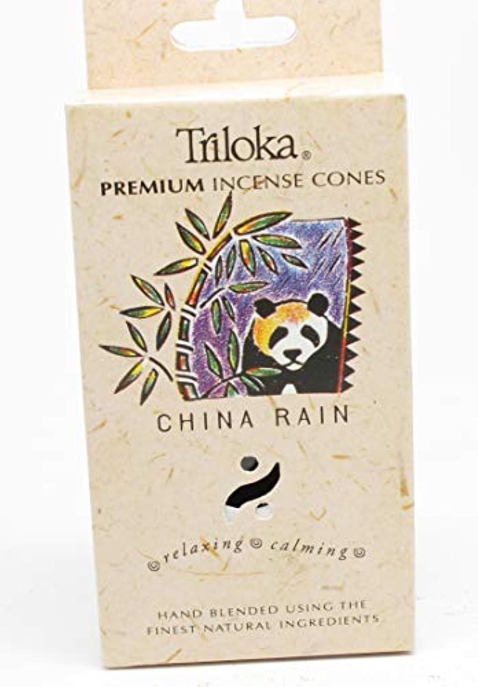 謎部分的ジャズ中国雨 – TrilokaプレミアムCone Incense