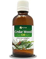 CEDAR WOOD OIL 100% NATURAL PURE UNDILUTED UNCUT ESSENTIAL OIL 50ML
