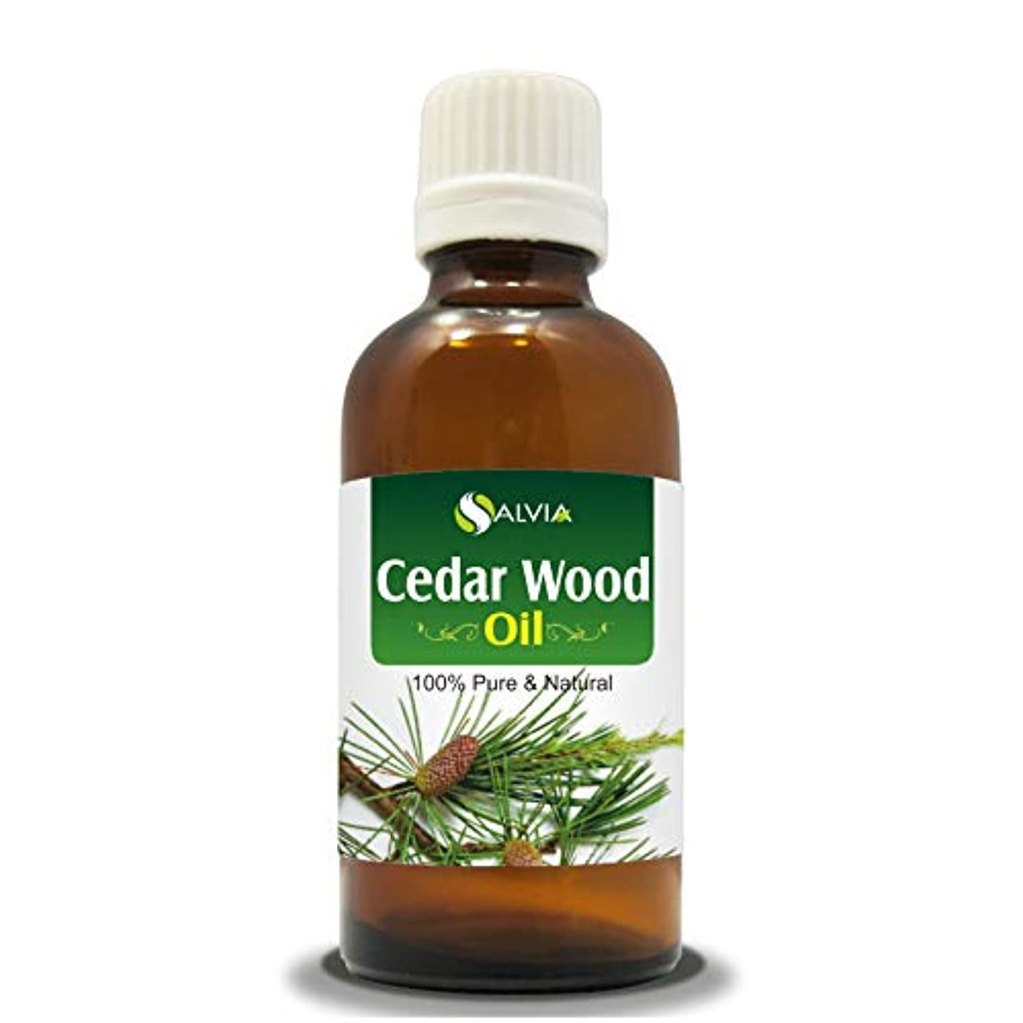 苦痛指令ミュートCEDAR WOOD OIL 100% NATURAL PURE UNDILUTED UNCUT ESSENTIAL OIL 50ML