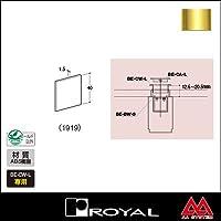 e-kanamono ロイヤル ベルラキャップL(切り穴隠しラージタイプ) BE-CA-L 1919 APゴールド