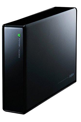 Logitec SeeQVault対応 外付けHDD ハードディスク 3.5インチ 3TB LHD-EN30U3QW