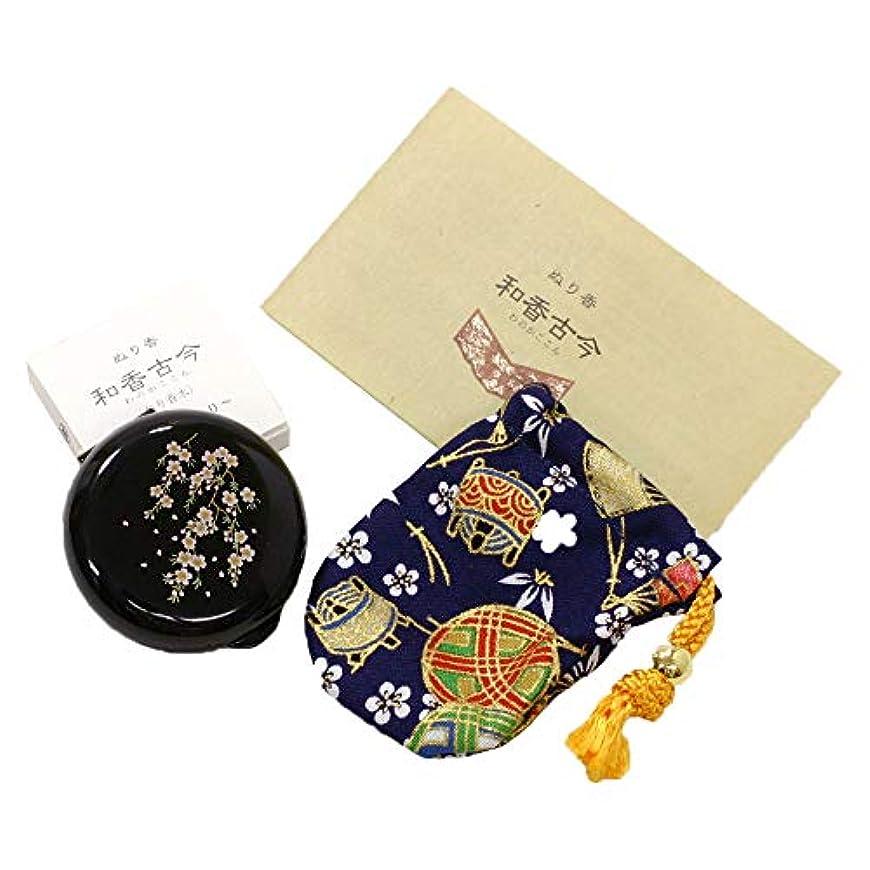 今後加速する競うぬり香原料系 ~天女の香り~和香古今(わのかここん)香合 桜