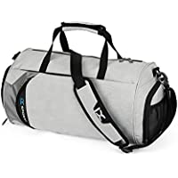 Gym Duffle Bag with Shoe Compartment AOLVO Waterproof Sport Gear Luggage Duffle Bag Storage Carry Overnight Bag for Men Women,39 * 22 * 22CM