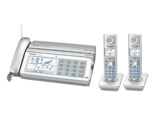 パナソニック デジタルコードレスFAX 子機2台付き シルバー KX-PW821DW-S