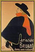 フレーム Henri De Toulouse Lautrec ジクレープリント キャンバス 印刷 複製画 絵画 ポスター(道の) #XLK