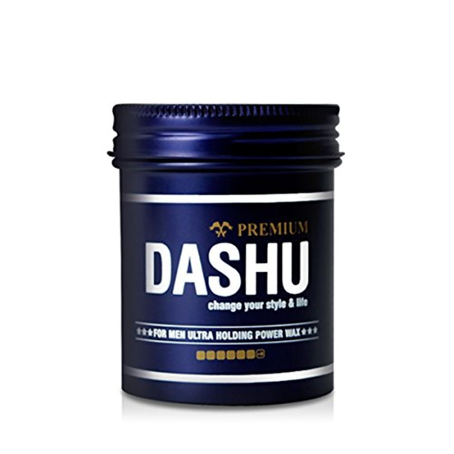アルファベット禁輸五[DASHU] ダシュ For Men男性用 プレミアムウルトラホールディングパワーワックス Premium Ultra Holding Power Hair Wax 100ml/ 韓国製 . 韓国直送品