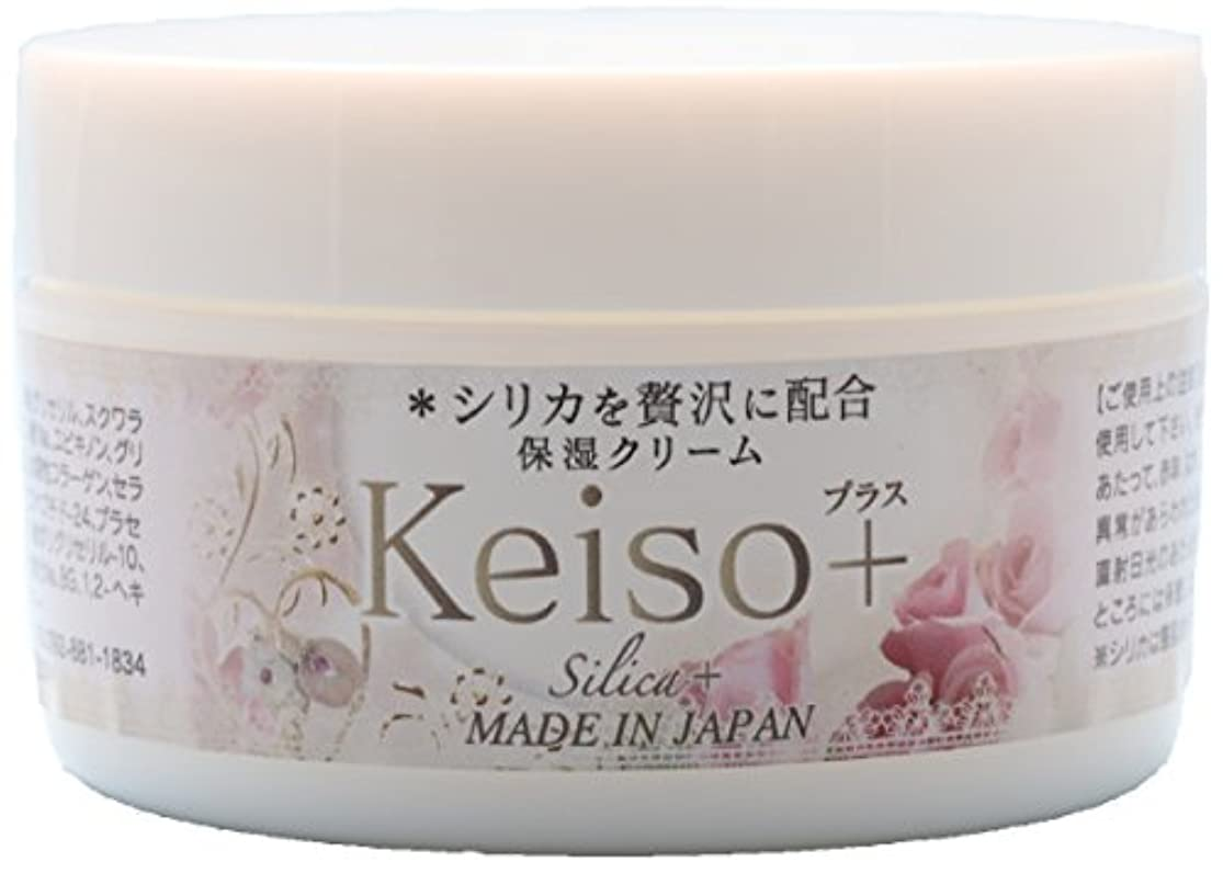 女性傷つけるスポーツをするKeiso+ 高濃度シリカ(ケイ素) 保湿クリーム 100g Silica Cream