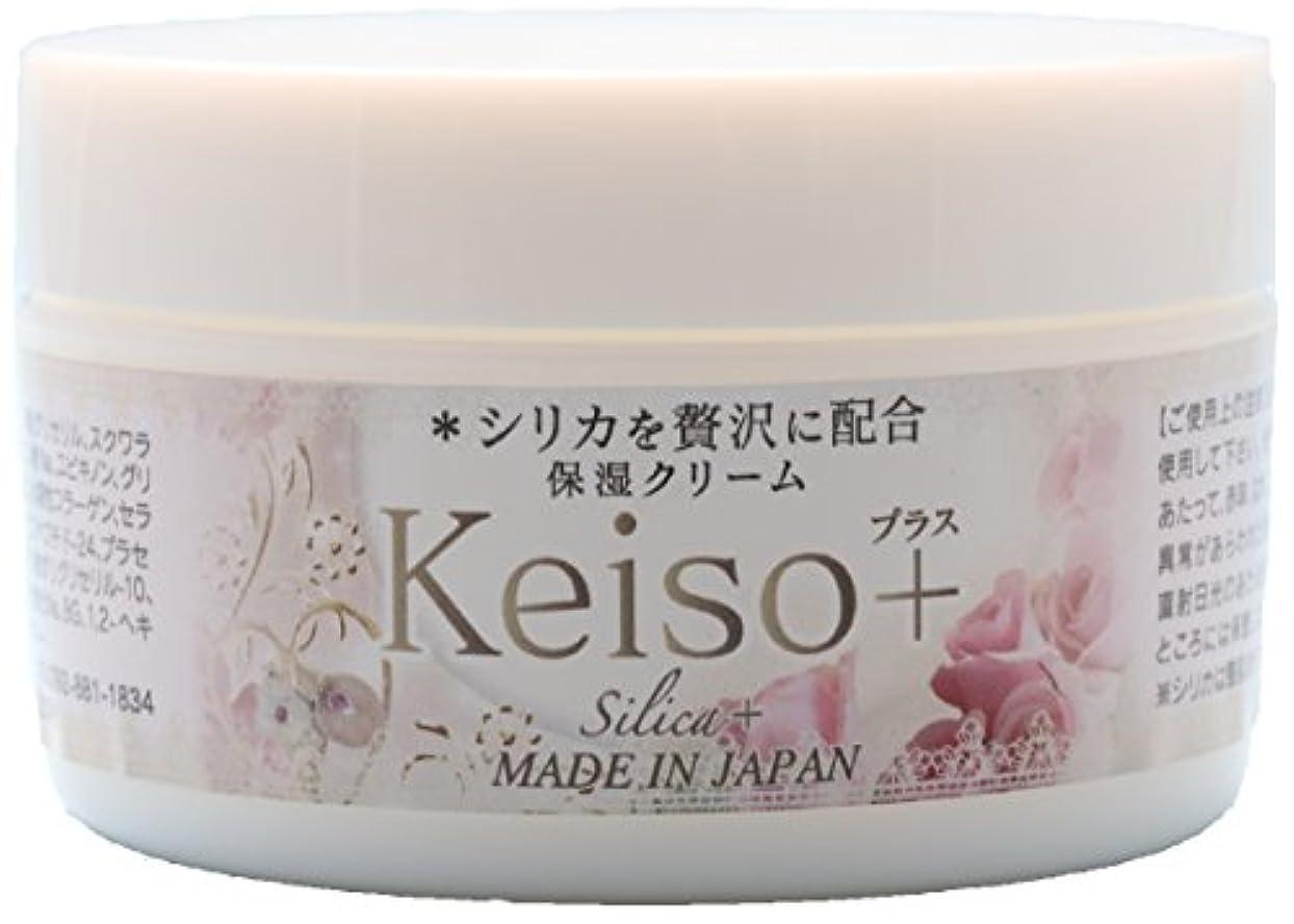 コントラスト廃棄する前置詞Keiso+ 高濃度シリカ(ケイ素) 保湿クリーム 100g Silica Cream
