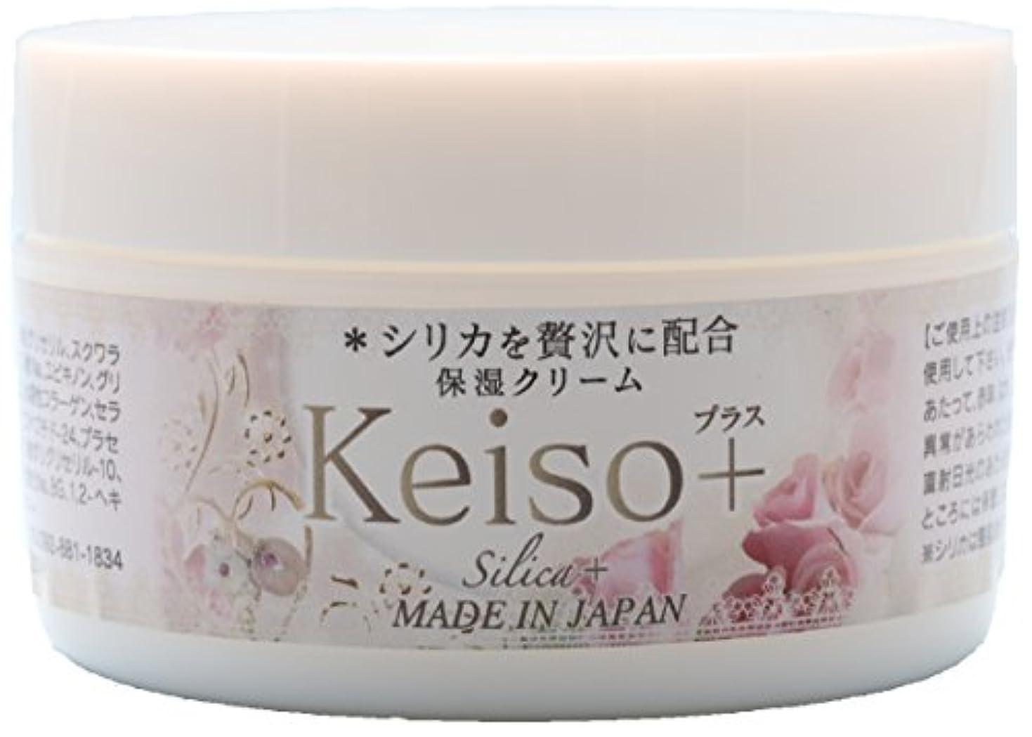 昼間特許テレビを見るKeiso+ 高濃度シリカ(ケイ素) 保湿クリーム 100g Silica Cream