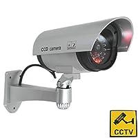phot-r p-dc40bkアウトドア/インドアIR CCTVセキュリティダミーBulletカメラwith警告ステッカー–ブラック–P usa size 1x (asian 2x) P-DC40SL