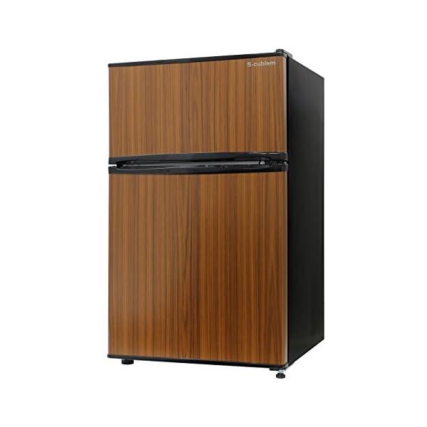 エスキュービズム 2ドア冷蔵庫 WR-2090W...の商品画像