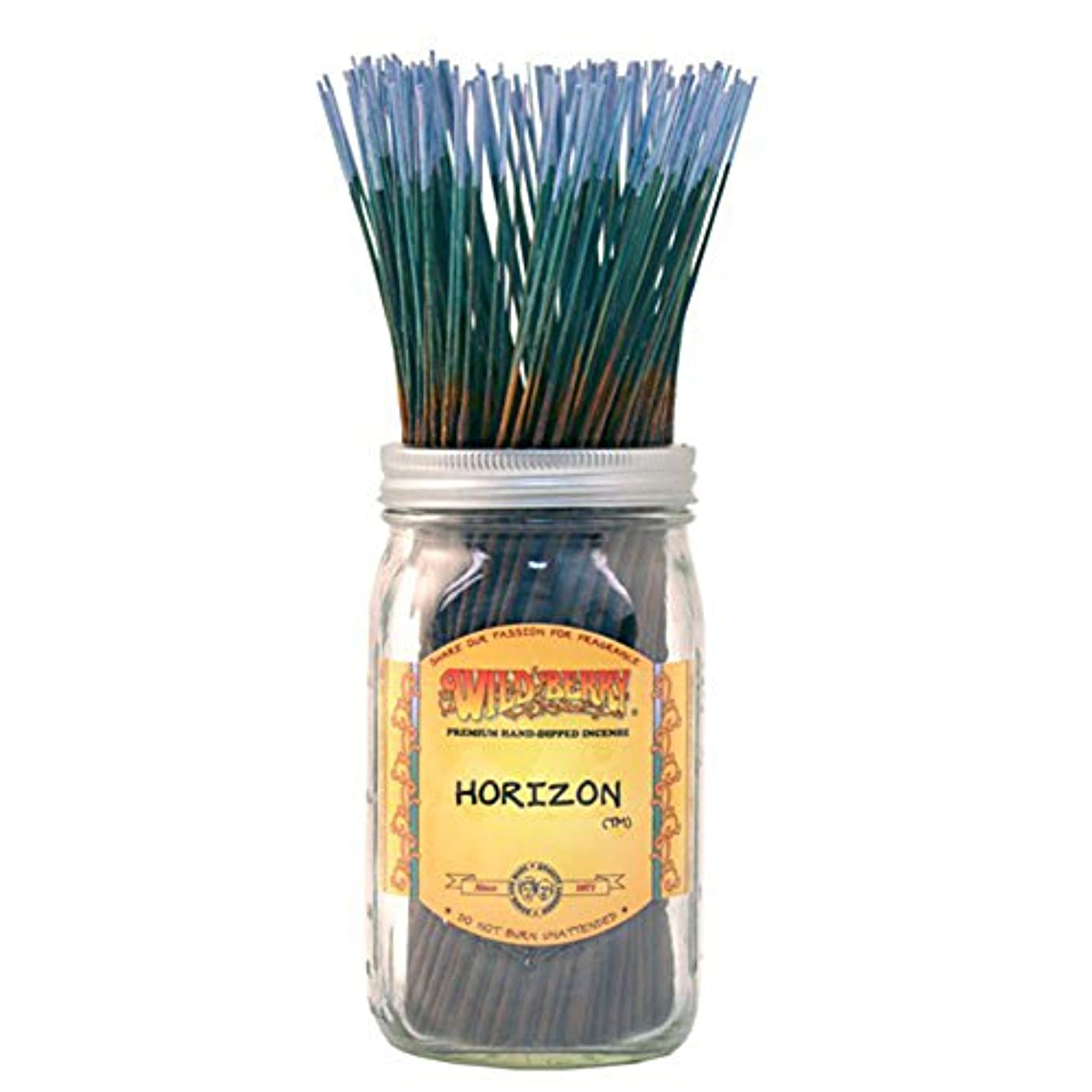 地震カートカリキュラムWild Berry Horizon, Highly Fragranced Incense Sticksバルクパック、100ピース、11インチ