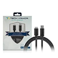 Tech Armor Hi - Speed USB 3.0 Micro - USB 3.0ケーブル – 6 ft – USB A to Micro - USB 3.0ケーブル – 同期と充電電話and More