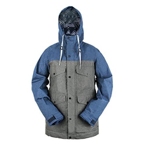 KELLAN(ケラン) JEKI JKT ジェーキ ジャケット スノーボードウェア 710301 チャコール/ネイビー XXLサイズ