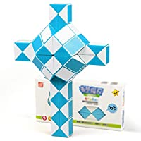 72 Mipartebo Magic Snake Ruler Cube Puzzles Brain Teaser Twist Toys