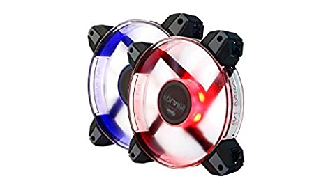 IN WIN RGB LEDライティング対応 2連PCケースFAN Polaris RGB (2pcs pack)