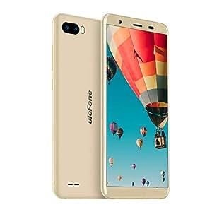 Ulefone S1 2018 3G SIMフリー au不可 デュアルSIM android 8.1 スマートフォン5.5インチ 1GB+8GB 顔認証 ゴールデン