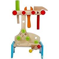 大工さんセット ミニ工具セット おままごと 木のおもちゃ ツール 男の子のおもちゃ キッズ用 子供のおもちゃ 知育玩具 誕生日 クリスマス プレゼント