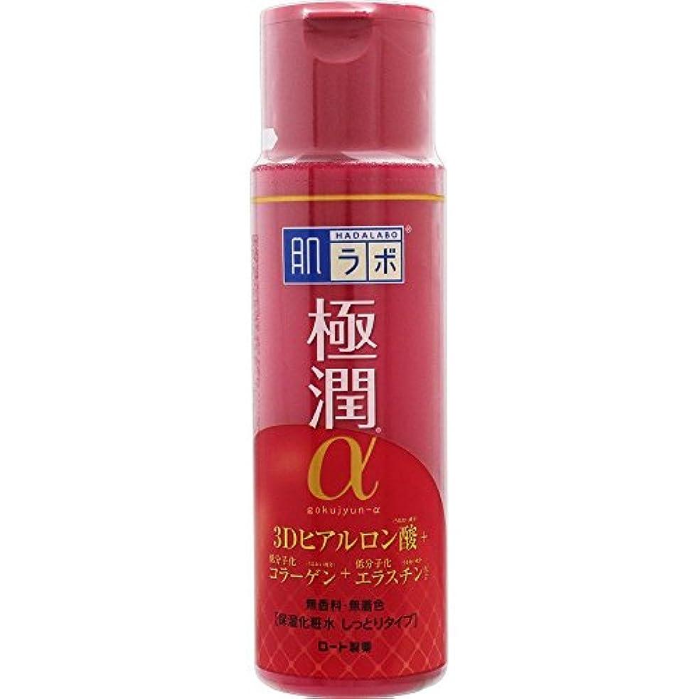 怠無声で肌ラボ 極潤α ハリ化粧水しっとりタイプ 170mL