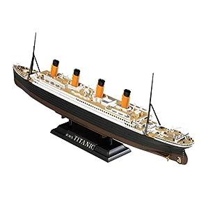 童友社 1/700 凄!船舶プラモデル No.22 R.M.S タイタニック LED付 色分け済みプラモデル