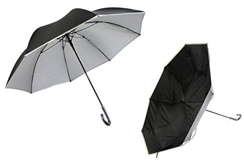 日光を遮断! 晴雨兼用 日傘 【無償修理対象】 ひっくり返っ...