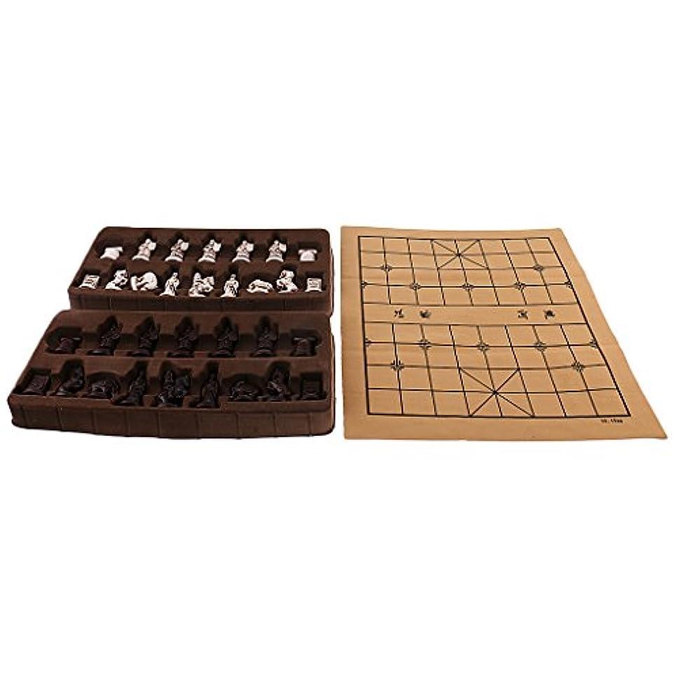 しみ命題どちらもKOZEEY ヴィンテージ チェス 折り畳み チェスボード 友達 ギフト