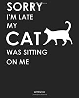 Notebook: Cat Soft Matte Cover Graph Blank Lined Soft Cover Boys Girls Kids College University High School Journal Paper 7.5 x 9.25 Inches 110 Pages