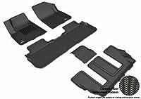 3D MAXpider L1GM02201509 R1 R2 R3 Kagu Floor Mat Bucket Seating for GMC Acadia 2017, Black