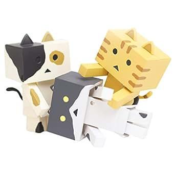 """ニャンボー figure collection C set""""mild""""(1BOX:3個入りセット) ノンスケール ABS製 塗装済み可動フィギュア"""