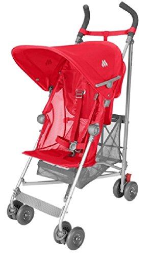 マクラーレン(Maclaren) ベビーカー ヴォロー (VOLO Stroller) Cardinal (Scarlet) [並行輸入品]