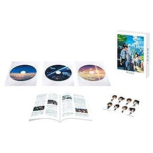 【Amazon.co.jp限定】「君の名は。」Blu-rayスペシャル・エディション3枚組(早期購入特典:特製フィルムしおり付き)(オリジナル特典:描き下ろしA4特製フレーム[高画質印刷]+特殊加工ポストカード2枚組付き)