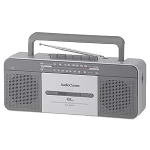 OHM AudioComm USBステレオラジカセ U500K RCS-U500K-S