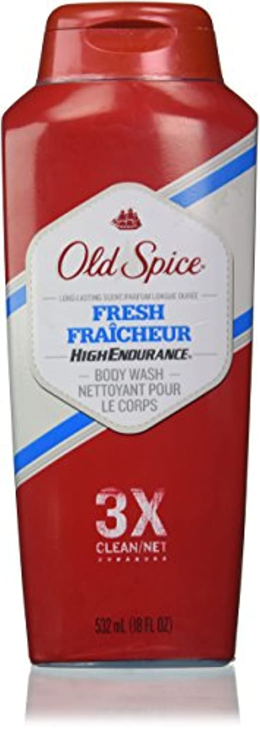 ヒップ工場リマOld Spice High Endurance Body Wash, Fresh, 18 fl oz (532 ml)