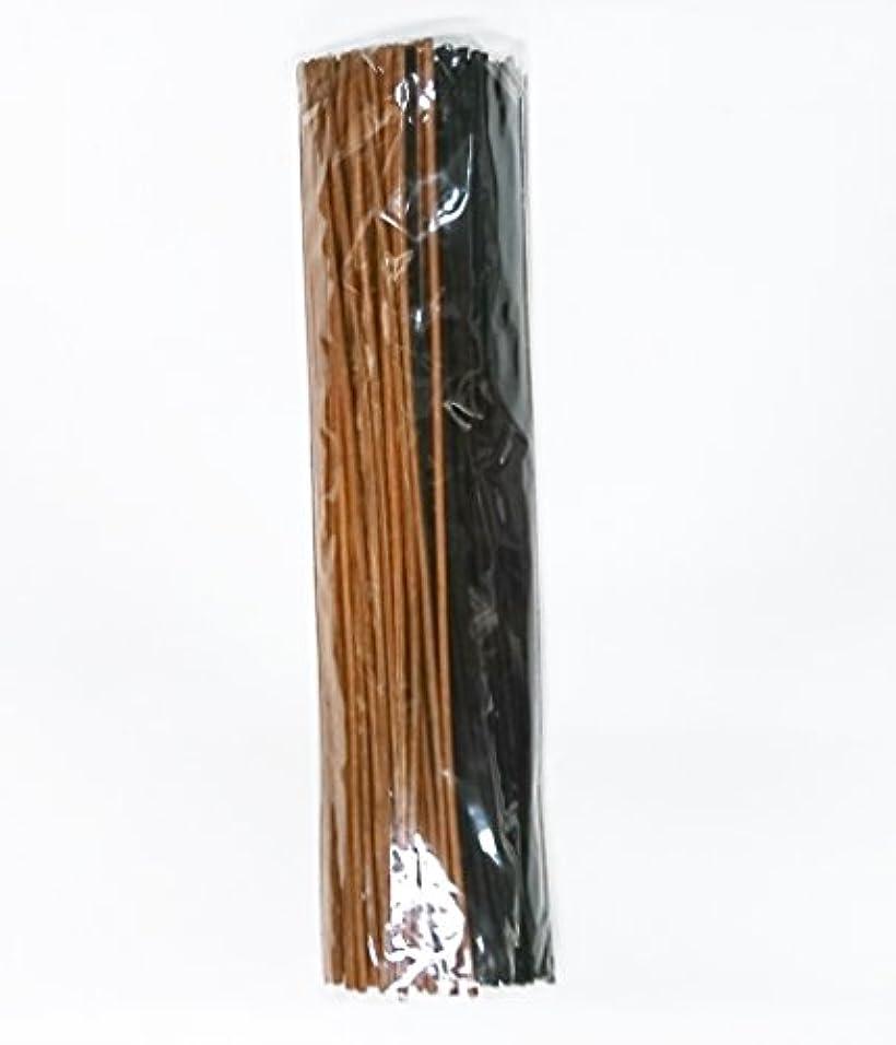 新年禁止する蘇生するbaobab(バオバブ) リードディフューザー用 リードスティック リフィル [ラタン スティック] 30㎝ 100本 (ブラック/ブラウン)