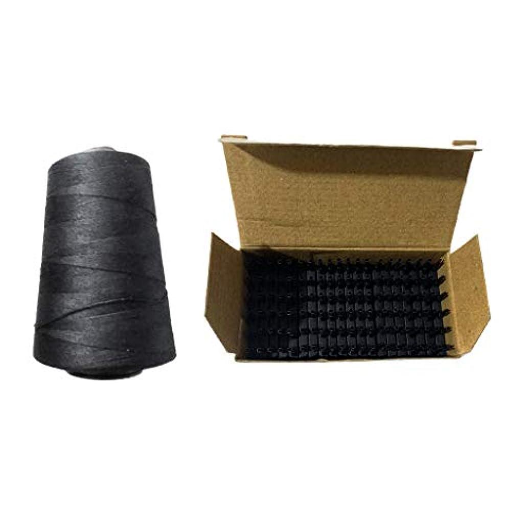 持続的猛烈な春編む糸 かつらスレッド ヘアエクステンション バックル クリップ