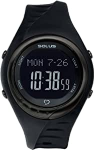 [ソーラス]SOLUS 腕時計 心拍計測機能付 Team Sports 300(チームスポーツ 300) ジャパンリミテッドモデル ブラック 01-300-07 【正規輸入品】