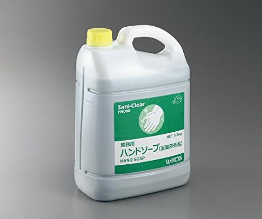 非常に怒っていますフランクワースリー吸うナビス 業務用薬用ハンドソープ Sani-Clear (サニクリア) 無香料 5kg 3本入 フォームディスペンサ付き / 3-5378-12