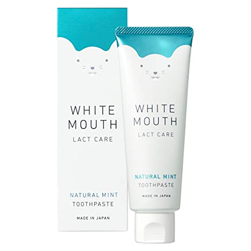 乱気流お気に入り階WHITE MOUTH ホワイトマウス デンタルクレンジング 歯磨き粉 ナチュラルミント100g