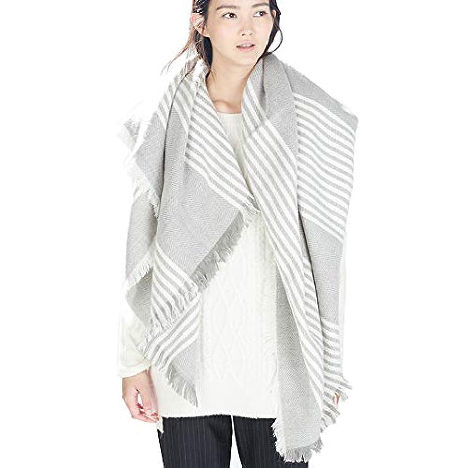 化学者干渉する敵対的女性の秋と冬の暖かいスカーフ厚い毎日の摩耗のためのスーパーロングソフトラップ大型スクラップショール