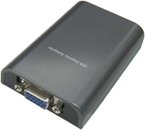 玄人志向 USB接続増設グラフィックアダプタ RGBコネクタタイプ VGA-USB/RGB