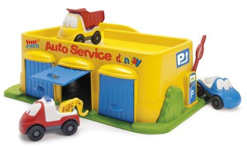 [해외]단 토이 마이 리틀 타운 시리즈 차고 세트 HP7530/Dantoi My Little Town Series Garage Set HP 7530