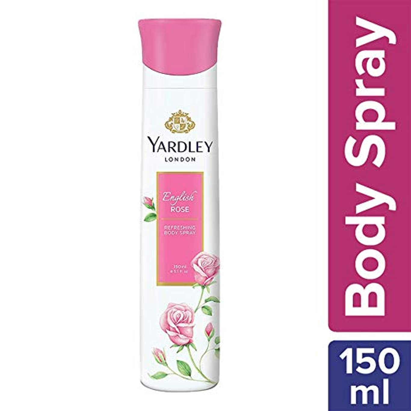 髄山岳プレビスサイトYardley London Refreshing Body Spray English Rose 150ml