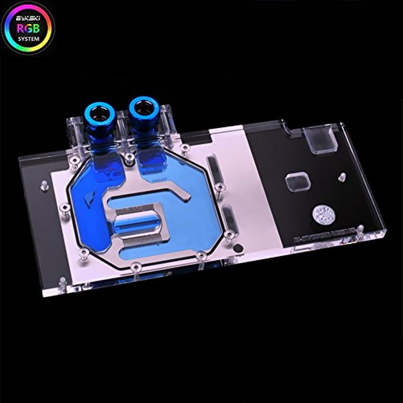 拒否軽食ビジュアルBykski RGB VGA GPU水冷却ブロックfor Gigabyte Aorus GTX 1060 6 G 9 Gbps